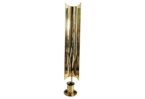 Skultuna Brass Shield Sconce