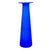 Swedish Blue Elme Glasbruk Art Glass Vase
