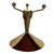 Ystad Metall Candle Holder with cone shaped base