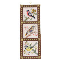 Swedish Bird Branch Design Needlepoint