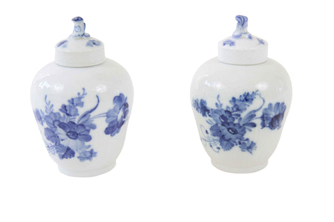 Pair of Small Royal Copenhagen Jars