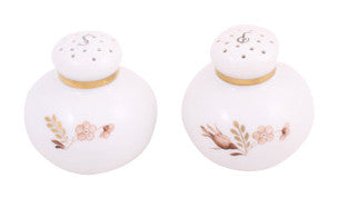 Royal Copenhagen Salt and Pepper Shakers