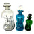 Holmegaard Smoky Glass Bottle Decanter