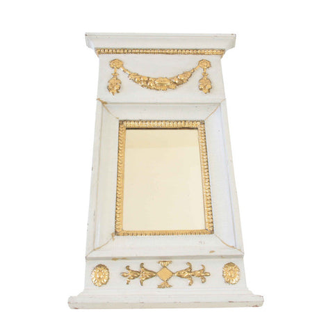 A Small Swedish Gustavian Mirror