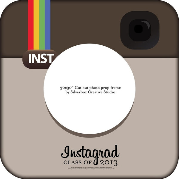 Instagrad Photo Prop