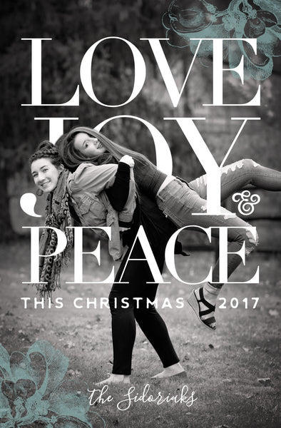Love Joy Peace this Christmas
