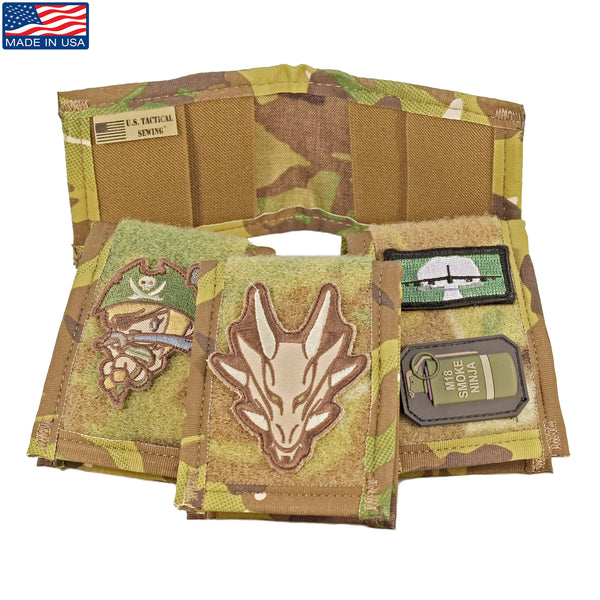 Tactical Slim Patch Wallet