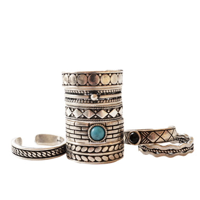Hope stack rings sterling silver - TAIGS000