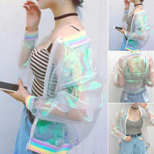 Load image into Gallery viewer, Iridescent Rainbow Jacket - TAIGS000