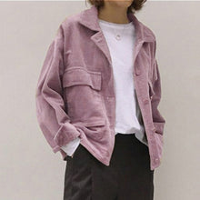 Load image into Gallery viewer, New Fall Corduroy Jacket - TAIGS000