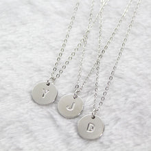 Load image into Gallery viewer, Alphabet Pendant Necklace - TAIGS000