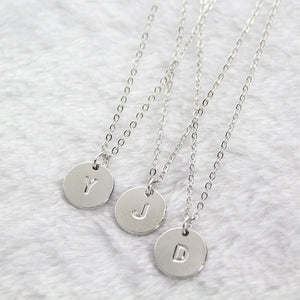 Alphabet Pendant Necklace - TAIGS000