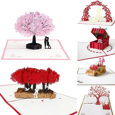 Valentine's Day 3D Pop UP Cards - TAIGS000