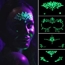 Load image into Gallery viewer, Glow in the Dark Face Crystals - TAIGS000