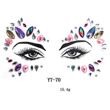 Load image into Gallery viewer, Face Gems Tattoo - TAIGS000