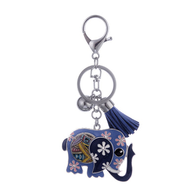 Drop oil Elephant Key chain - TAIGS000
