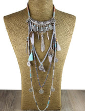 Load image into Gallery viewer, Tribal collar necklace - TAIGS000