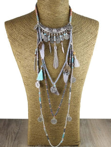 Tribal collar necklace - TAIGS000