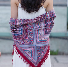 Load image into Gallery viewer, Bohemian Cotton Scarf - TAIGS000
