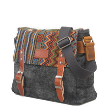 Load image into Gallery viewer, Ethnic Canvas Crossbody Bag - TAIGS000