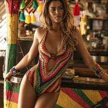 Load image into Gallery viewer, Crochet Monokini - TAIGS000