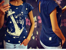 Load image into Gallery viewer, anchor short-sleeved t -shirt - TAIGS000