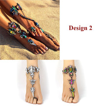 Load image into Gallery viewer, Crystal Bracelet Anklet - TAIGS000