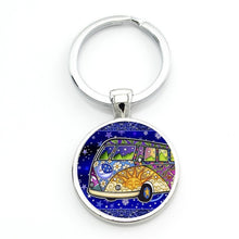 Load image into Gallery viewer, vintage Van keychain - TAIGS000
