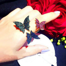 Load image into Gallery viewer, Korean butterfly Ring - TAIGS000