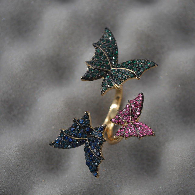 Korean butterfly Ring - TAIGS000