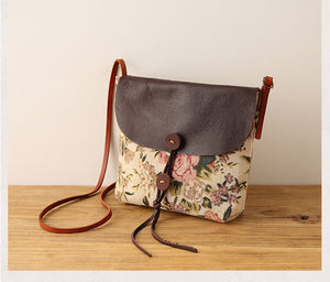 Linen Panelled Bag - TAIGS000