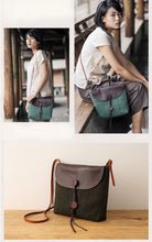 Load image into Gallery viewer, Linen Panelled Bag - TAIGS000