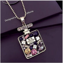 Load image into Gallery viewer, Crystal Long Pendant Necklace - TAIGS000