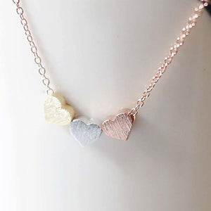 Infinity Heart Pendant Necklace - TAIGS000