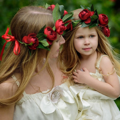 Mom and Me Camellia Headband - TAIGS000