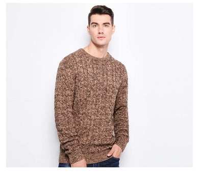 Knitted Jacquard Sweater Men - TAIGS000