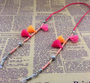 Handmade Tassel Beaded Eyeglass Rope - TAIGS000