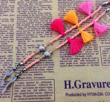 Load image into Gallery viewer, Handmade Tassel Beaded Eyeglass Rope - TAIGS000