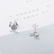 Load image into Gallery viewer, Mickey crystal Stud Earrings - TAIGS000