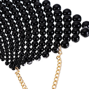 Chunky Statement Pearl Necklace Maxi - TAIGS000