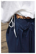 Load image into Gallery viewer, Big Pockets Linen Skirt - TAIGS000
