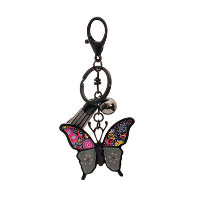 Drop oil Glaze butterfly KeyChain - TAIGS000