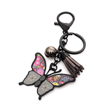 Load image into Gallery viewer, Drop oil Glaze butterfly KeyChain - TAIGS000