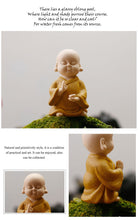 Load image into Gallery viewer, wishing buddha statue tea pet in bright colors - TAIGS000