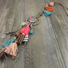 Load image into Gallery viewer, Dreamcatcher sweater chain - TAIGS000