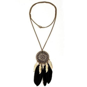 Dream Catcher Necklace - TAIGS000