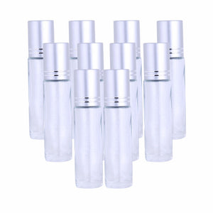 10pcs Essential Oil Gemstone Rollers - TAIGS000