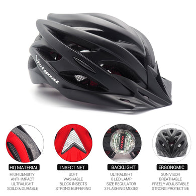 Bicycle Helmets Back Light - TAIGS000