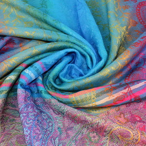 Indian Tippet Paisley Scarf - TAIGS000