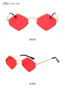 Trending Diamond Sharp Sunglasses - TAIGS000